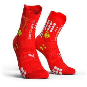 Compressport Pro Racing V3.0 Trail Skarpetki do biegania czerwony